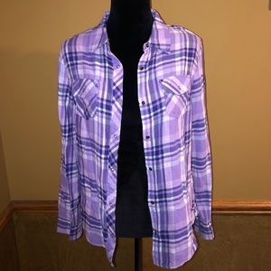Women's Flannel Purple